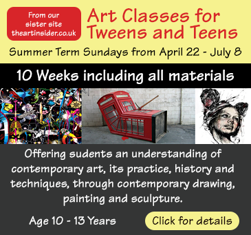 Art classes for Teens and Tweens