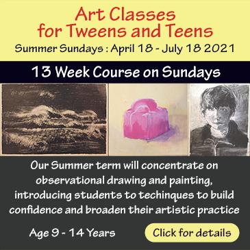 Art classes for Teens and Tweens